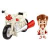 Mattel Toy Story 4: Duke Caboom mini figura és kaszkadőr motorja