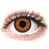 MaxVue Vision ColourVUE Glamour Honey - dioptriával (2 db lencse)
