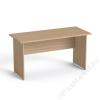 MAYAH Íróasztal, laplábbal, 140x70 cm, MAYAH Freedom SV-20, kőris (IBXA20K)