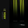 MDPC-X Sleeve XTC - Area-51, Neon zöld/sárga 1m(SL-XTC-AR)