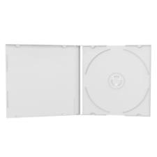 MediaRange CD tok slim fehér 5,2mm (10) asztali számítógép kellék