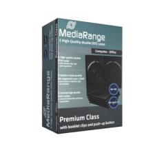 MediaRange DVD tok dupla 14mm (5) asztali számítógép kellék