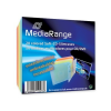 MediaRange színes CD tok slim 5,2mm (20) /BOX37/