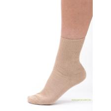 Medical, gumi nélküli zokni 5 pár - Drapp 37-38 női zokni