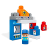 MEGA Bloks: rendőrség mini játékszett