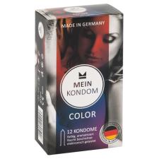 Mein Kondom Mein Kondom Color - színes, ízes óvszer (12db) óvszer
