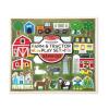 Melissa & Doug Fa építőjáték, Farm és traktor