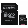 Memóriakártya, microSDHC, 64GB, Class 10 + SD Adapter, Kingston