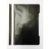 Memoris Gyorsfűző műanyag PP A4 FEKETE 25db/csom