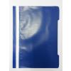 Memoris Gyorsfűző műanyag PP A4 KÉK 25db/csom