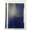 Memoris Gyorsfűző műanyag PP A4 SÖTÉTKÉK 25db/csom