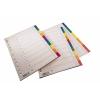 Memoris műanyag 10 részes színes elválasztólap