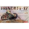 Meng Model - French Ft-17 Light Tank (Riveted Turret)