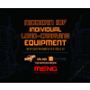 Meng Model - Modern Idf Individual Load-Carrying Equipment