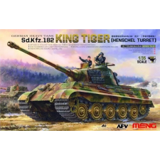 Meng-Modell MENG-Model German Heavy Tank Sd.Kfz.182 King Tiger (Henschel Turret) makett TS-031 makett figura