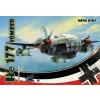 Meng-Modell MENG-Model He 177 Bomber (Special Edition) White sp makett mPLANE-003s