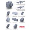Meng-Modell MENG-Model Modern U.S.Marines Individual Load-Carry Carrying Equipment (Resin) makett SPS-027
