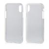 Mercury Goospery Mercury Clear Jelly Apple iPhone X hátlapvédő átlátszó