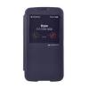 Mercury Goospery Mercury Easy View Samsung G900F Galaxy S5 ablakos kinyitható tok sötétkék