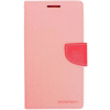 Mercury Goospery Mercury Fancy Diary Apple iPad Mini 4 kinyitható tok pink-sötétpink