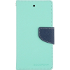 Mercury Goospery Mercury Fancy Diary Apple iPad Mini kinyitható tok menta-kék