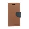 Mercury Goospery Mercury Fancy Diary Apple iPhone 5G/5S/5SE kinyitható tok barna-fekete