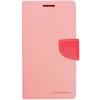 Mercury Goospery Mercury Fancy Diary Samsung G900 Galaxy S5 kinyitható tok pink-sötétpink