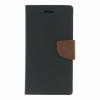Mercury Goospery Mercury Fancy Diary Samsung G920 Galaxy S6 kinyitható tok fekete-barna