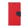 Mercury Goospery Mercury Fancy Diary Samsung N910 Galaxy Note 4 kinyitható tok piros-kék