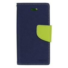 Mercury Goospery Mercury Fancy Diary Samsung P5200 Galaxy Tab 3 10.1 kinyitható tok sötétkék-lime tok és táska