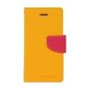Mercury Goospery Mercury Fancy Diary Samsung T310 Galaxy Tab 3 8.0 kinyitható tok sárga-sötétpink