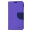 Mercury Goospery Mercury Fancy Diary Sony D5803 Xperia Z3 compact kinyitható tok lila-kék