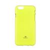 Mercury Goospery Mercury Jelly Apple iPhone 7 / 8 fluoreszkáló hátlapvédő lime