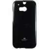Mercury Goospery Mercury Jelly HTC One M8 hátlapvédő fekete