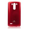 Mercury Goospery Mercury Jelly LG D722 G3 S hátlapvédő piros