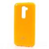 Mercury Goospery Mercury Jelly LG D802 G2 hátlapvédő sárga
