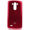 Mercury Goospery Mercury Jelly LG D855 G3 hátlapvédő piros