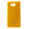 Mercury Goospery Mercury Jelly Samsung G850 Galaxy Alpha hátlapvédő sárga