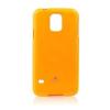 Mercury Goospery Mercury Jelly Samsung G900F Galaxy S5 hátlapvédő sárga