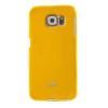 Mercury Goospery Mercury Jelly Samsung G920 Galaxy S6 hátlapvédő sárga