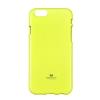 Mercury Goospery Mercury Jelly Samsung N920 Galaxy Note 5 fluoreszkáló hátlapvédő lime