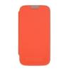 Mercury Goospery Mercury Techno Apple iPhone 5G/5S/5SE oldalra nyitható tok narancs