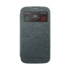 Mercury Goospery Mercury Viva Window Samsung N910 Galaxy Note 4 oldalra nyitható ablakos tok szürke