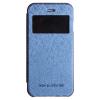 Mercury Goospery Mercury Wow Bumper Apple iPhone 5G/5S/5SE ablakos kinyitható tok sötétkék