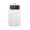 Mercury Goospery Mercury Wow Bumper Samsung G900 Galaxy S5 ablakos kinyitható tok fehér