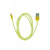 metal USB kábel - Micro USB - arany - 1 m