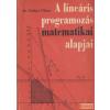 Mezőgazdasági A lineáris programozás matematikai alapjai