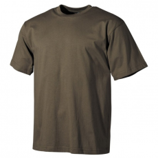 MFH póló olívzöld klasszikus, 160g/m ²