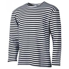 MFH tengerészeti hosszú ujjú trikó fekete, bélelt