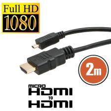 Micro HDMI kábel 2m (20317) audió/videó kellék, kábel és adapter